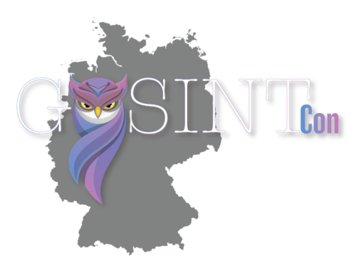 GOSINTCon – German Open Source Intelligence Conference